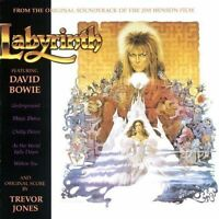Labyrinth CD Original Soundtrack From The Jim Henson Film David Bowie