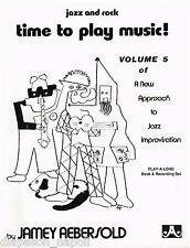 Jamey Aebersold: Time To Play Music! V.5 Of A New Approach To Jazz Improvisation