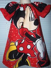 Minnie Mouse  Girls Dress Size 4t 21 in Length Ready to Ship