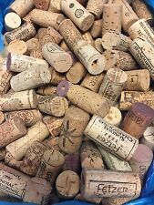 500 Piece Lot Natural Wine Corks No Synthetic No Champagne Craft Supply Used
