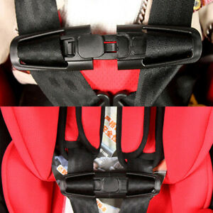 UK Car Safety Seat Buckle Belt Harness Chest Clip Pad Children Baby Anti Escape