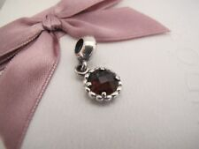 Genuine Pandora silver  Autumn breeze quartz dangle charm ale  925 791021sq