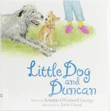 Irish Wolfhound Illustrated Poetry Book Little Dog And Duncan George