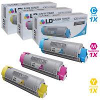 LD For Okidata C8 3pk HY 43324403 43324402 43324401 OKI C5500 C5650 C5800