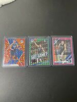 Luka Doncic 2nd Year Prizm (3x) Card Lot! Nice Condition!! PSA 10 ? Dallas NBA