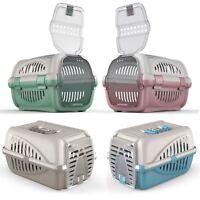 Pet Premium Carrier Kitten Cat Dog Transport Travel Box Cage Vet Carry