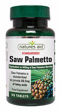 Serenoa Repens 500 mg x 90 Compresse VEGAN vegetariani-Natures aiuti-gratis UK POST
