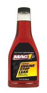 NEW Mag 1 182 Premium Engine Stop Leak Treatment - 14 oz (Single Pack)