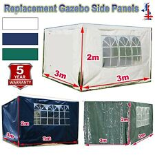 More details for replacement gazebo side panels made from water repellent fabric 120g pe cover-uk