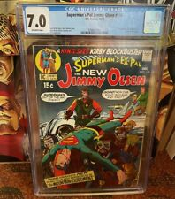 Superman's Pal Jimmy Olsen 134 (CGC) 7.0 1st Darkseid!! Snyderverse!!!