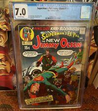 Superman's Pal Jimmy Olsen 134 (CGC) 7.0 1st Darkseid!! Snyderverse!!!