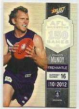 2013 AFL SELECT CHAMPIONS MILESTONE GAME MG24 David Mundy Fremantle CARD