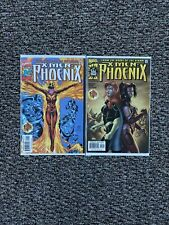 X-Men: Phoenix Vol 1 Issues 1 & 2 | Moore Alixe Stucker (Marvel, 1999) lot