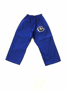 Brazilian Jiu Jitsu Judo Grappling Fighting Training MMA Cotton Pants Blue 000