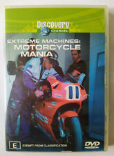 Extreme Machines - Motorcycle Mania – DVD - Discovery Channel