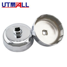 86mm 16 Flute Oil Filter Wrench Tool Cartridge Style Housing Caps For BMW Volvo