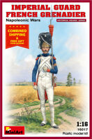 Miniart 16017 - 1/16 Imperial Guard French Grenadier Napoleonic Wars model kit