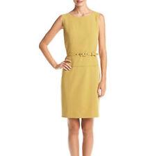 NINE  West Solid Seamed Dress WITHOUT BELT SIZE10