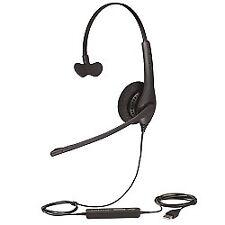 Jabra BIZ 1500 Mono USB Corded Headset w/ Noise Canceling Microphone & HD Voice