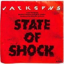 "Jacksons - State Of Shock - 7"" Vinyl Record Single"