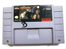 Soldier of Fortune SUPER NINTENDO SNES GAME - Tested Working & Authentic