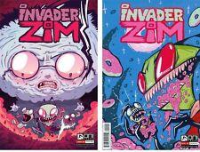 INVADER ZIM 1B-2B Jhonen Vasquez Variant I am Sick Johnny Homicidal Maniac ONI