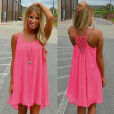 Womens Beachwear Beach Short Dress Bikini Cover Up Kaftan Ladies Mini Sun Dress