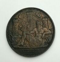 Dated : 1885 - Belgium - Exposition Universelle d'Anvers - Token Coin
