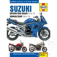 Suzuki GSX 1250 FA ABS 2010 Haynes Service Repair Manual 4798