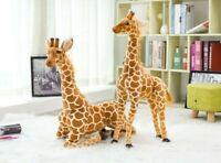Big Plush Giraffe Toy Doll Giant Large Stuffed Animal Soft Doll For Kid Gift
