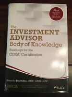 The Investment Advisor Body of Knowledge + Test Bank: Readings for the CIMA Cert