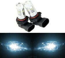 LED 30W 9006 HB4 White 6000K Two Bulbs Head Light Low Beam Show Use Replace