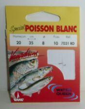 Hameçons montés VMC N°20 0,08mm 35cm Réf:7031RD spécial poisson blanc