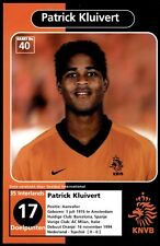 Voetbal International Fotokaarten KNVB 2000 - Patrick Kluivert No. 40