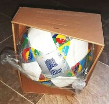 Adidas Conext19 Uefa Nations League Official Match Ball Cw5295 Size 5 , With Box