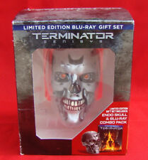 Limited Edition Blue-Ray Gift Terminator Genisys Endo Skull Only