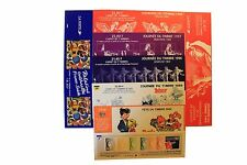 Timbres France lot de 8 couvertures de carnets VIDES non pliées