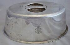 Petite cloche plat Christofle métal argenté compagnie des messageries Maritimes