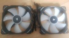2 × Corsair ml140 Pro RGB PWM Magnetschwebebahn Fan