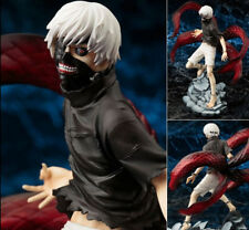 New Anime Tokyo Ghoul Kaneki Ken PVC 23CM Action Figures Statue Model Toy Gift