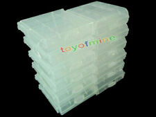CLEAR CASE Rechargeable AA AAA 2A 3A Battery x 12 box