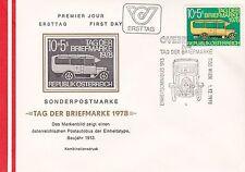 Österreich 1978: FDC Tag der Briefmarke Römischer Postwagen SSt. 1150 Wien