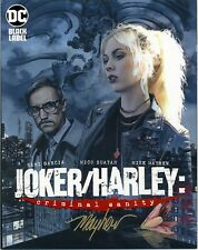 JOKER/HARLEY: CRIMINAL SANITY #1 Mike Mayhew Variant Cover Signed with COA