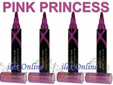 4 x MAX FACTOR LIPFINITY LASTING LIP TINT  #03 PINK PRINCESS   *NEW & SEALED*