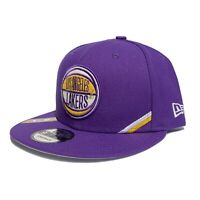Los Angeles Lakers New Era Purple Draft 9FIFTY Snapback Hat NBA Basketball NEW