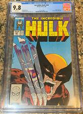 Incredible Hulk #340 CGC 9.8 - Classic McFarlane Cover
