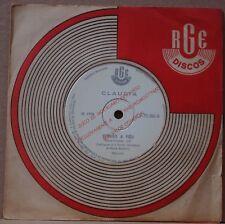 """CLAUDIA 1969 """"Razao De Paz…"""" Bossa Nova Samba Jazz 7"""" BRAZIL PROMO 45 HEAR"""
