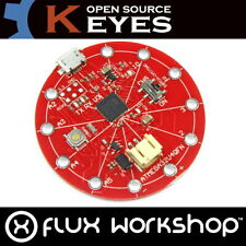 Keyes ATmega32u4 (Compatible Arduino) Textile Portable Flux Workshop