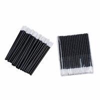 100x Disposable Lip Brush Gloss Wands Applicator Makeup Cosmetic Tool Beauty SH