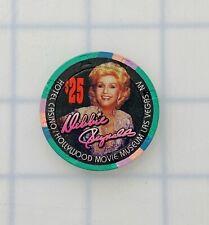 Rare Debbie Reynolds $25 Hollywood Movie Museum, Las Vegas Casino Chip 1994